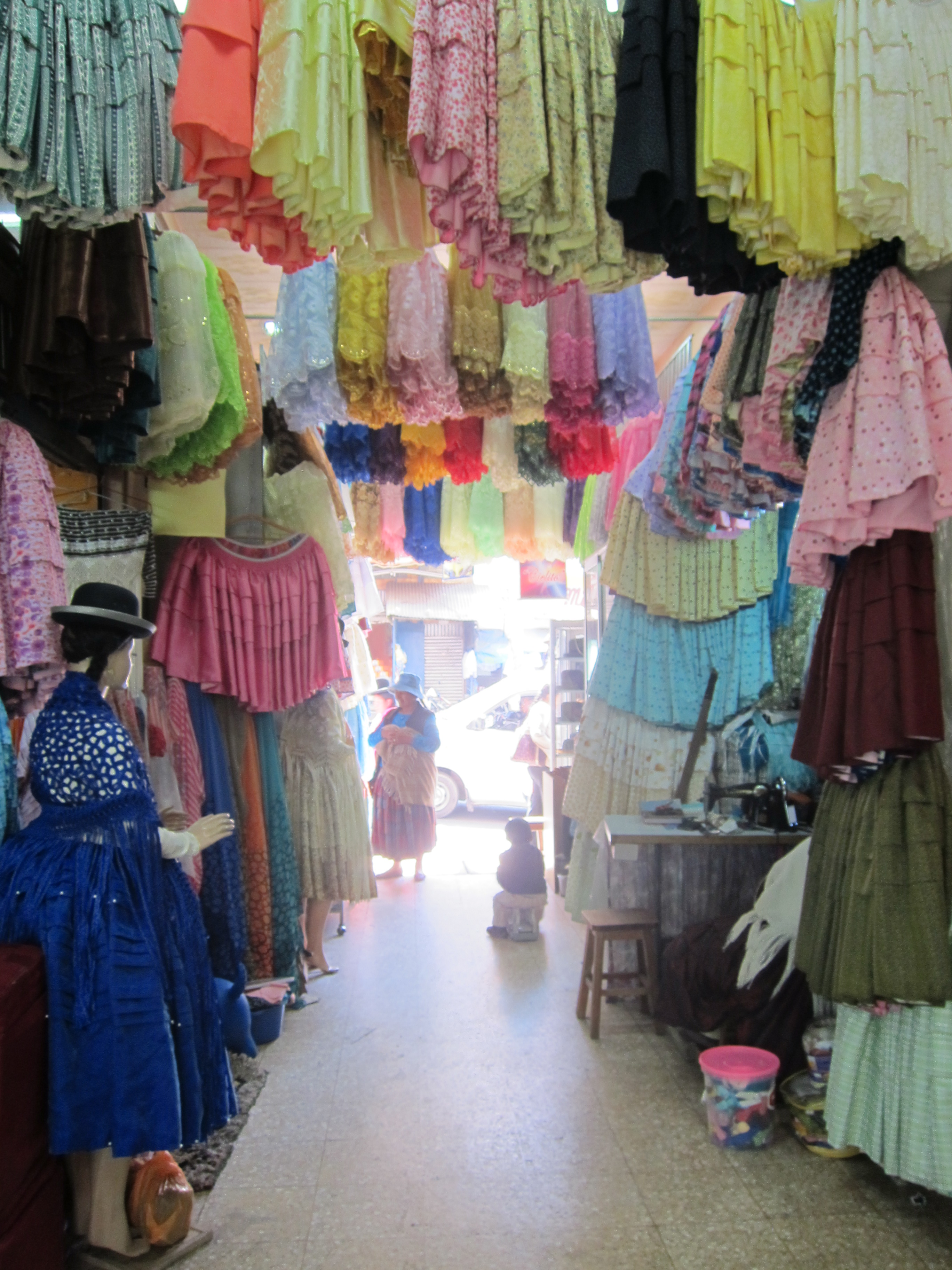 Traditional Bolivian clothing