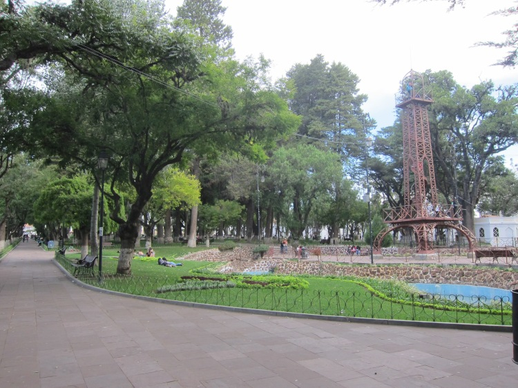 """Eiffel Tower"" at Parque Simon Bolivar"