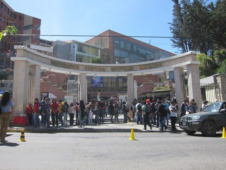 La Universidad Catolica Boliviana