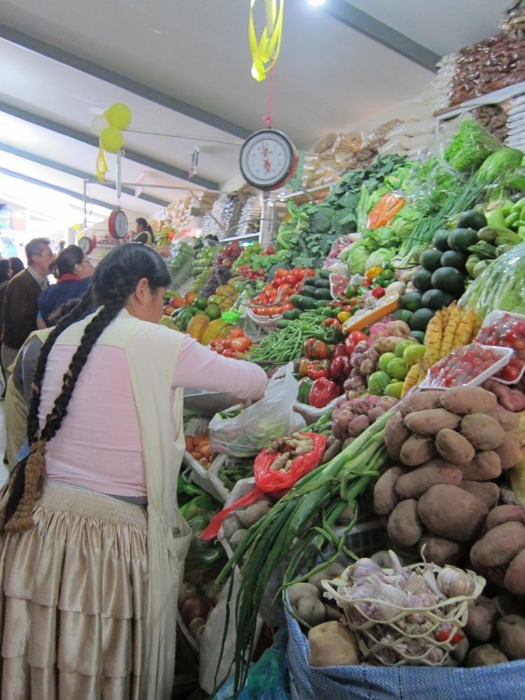 Irpavi market.
